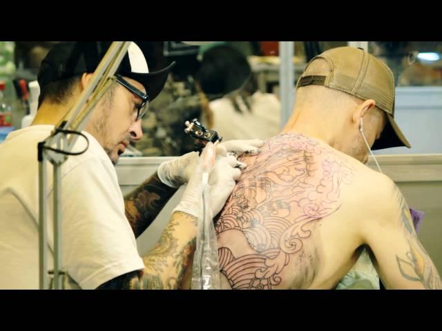 Urban festival. BMX, graffiti, tattoo, cars