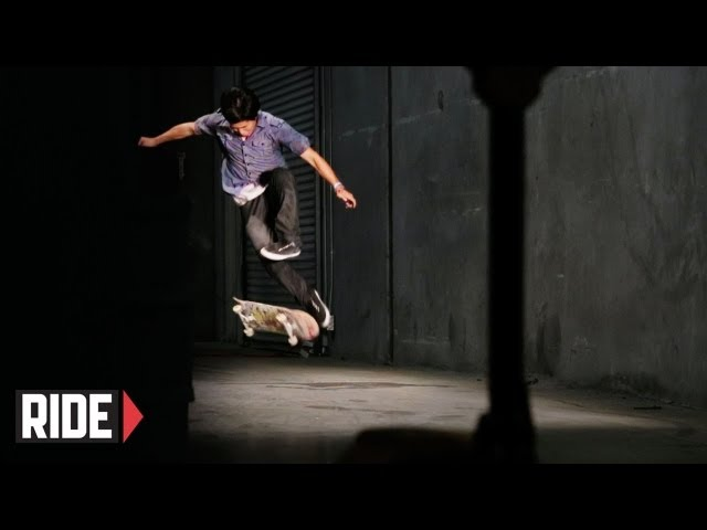 Jason Park 540 Shuvit in Super Slow Motion
