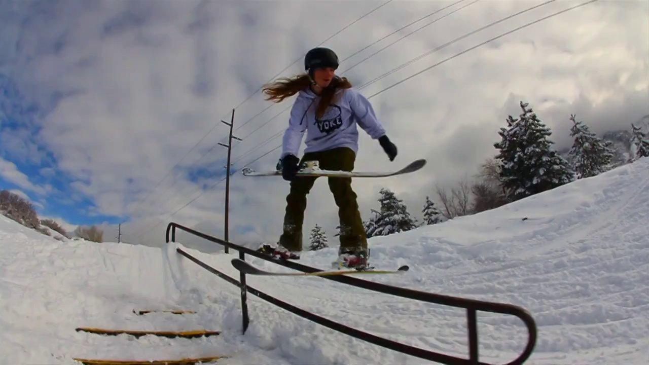 Grind to Ski Flip?
