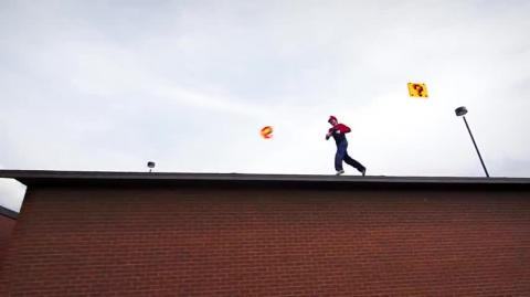 Real Life Super Mario Bros Parkour!