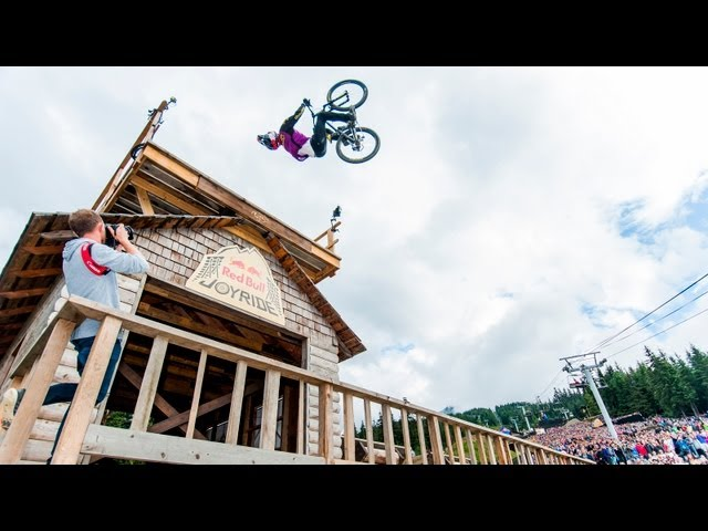 Crankworx Red Bull Joyride 2013 Highlights