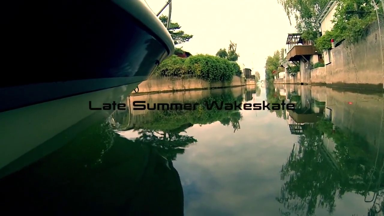 Late Summer Wakeskate