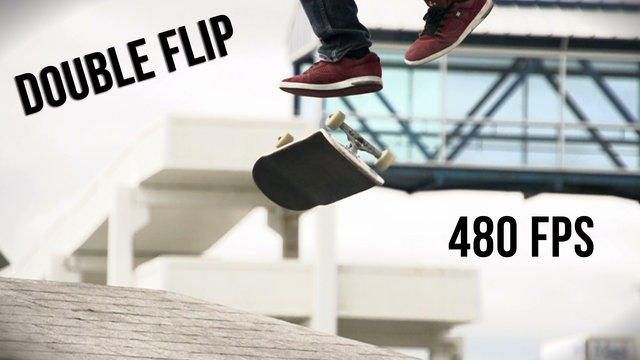 Slow Motion - Double Flip (480 FPS)