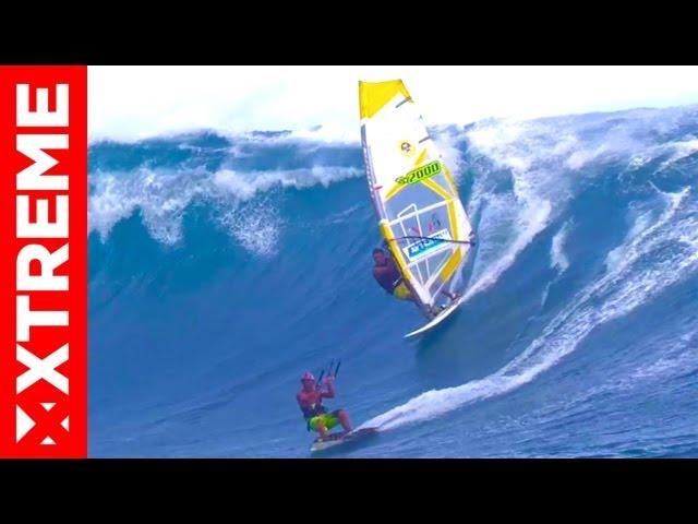 Kitesurfing Teahupoo
