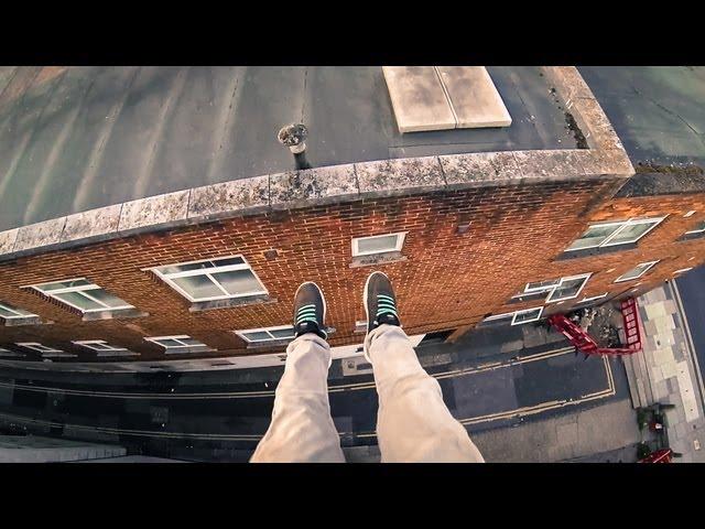 POV Rooftop Parkour