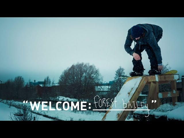 Welcome: Forest Bailey