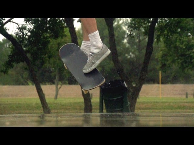 a bunch of slow motion skating