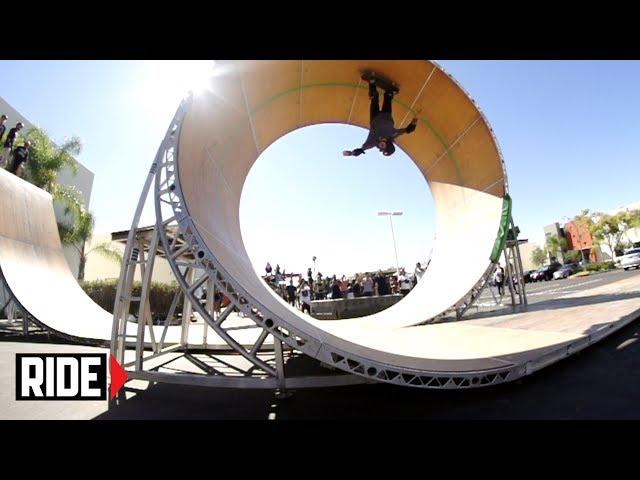 Aaron Jaws Homoki Full Loop Kickflip Line