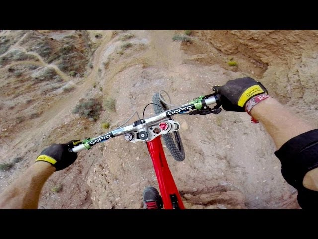 72ft Backflip Over Canyon POV At Red Bull Rampage