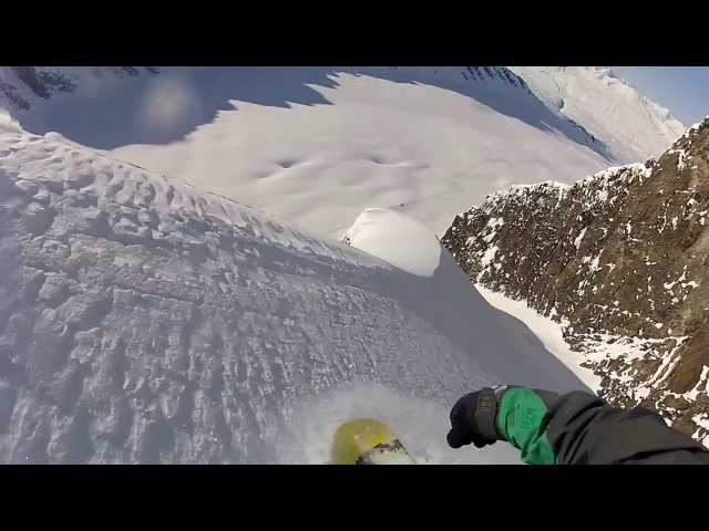 Snowboarding Big Backcountry Lines in Alaska & Tah