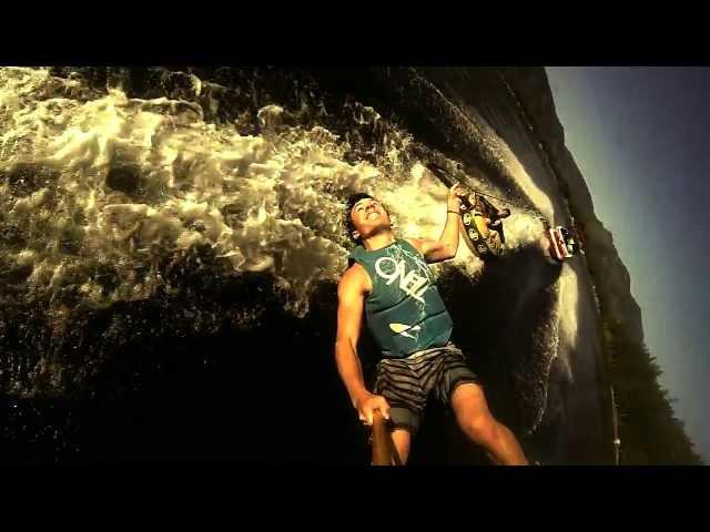 Lake Cowichan: wakeboarding edit