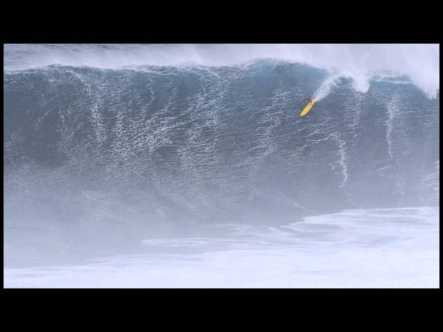 Mark Healey Paddles Jaws