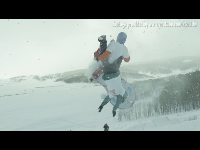 Sledding Backflip Ends In Shattered Femur