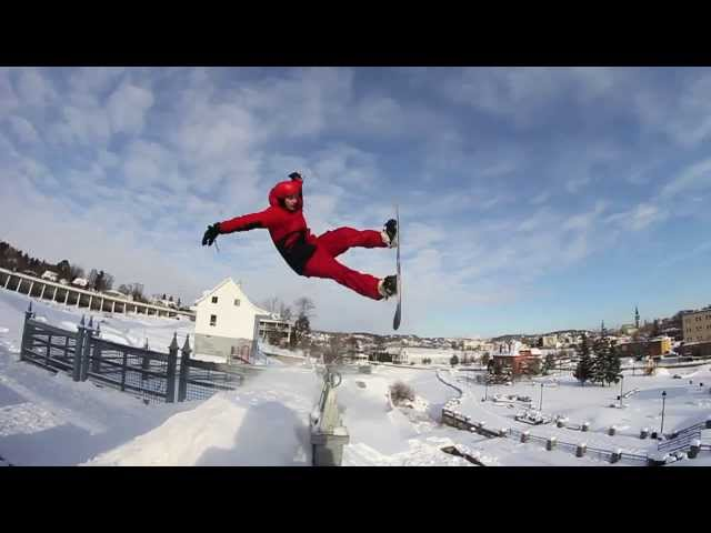 Epic Snowboard Fail