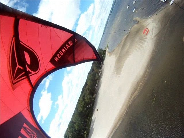 GoPro Hide and Seek Kiteboarding Fail