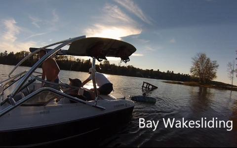 More Bay Wakesliding