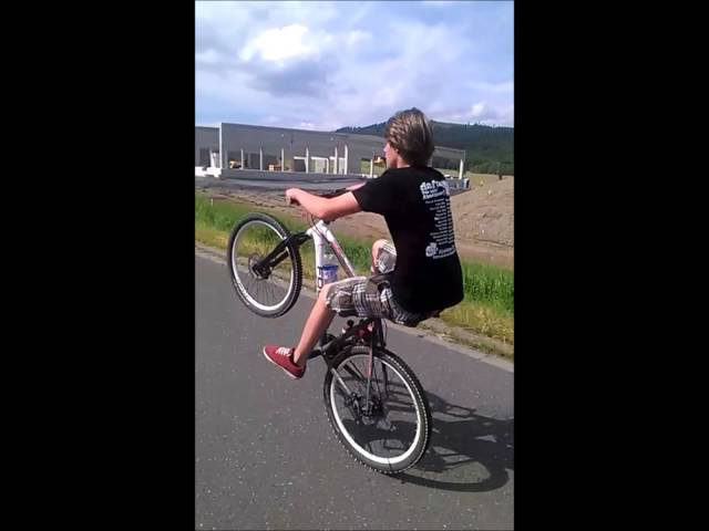 40+ second wheelie
