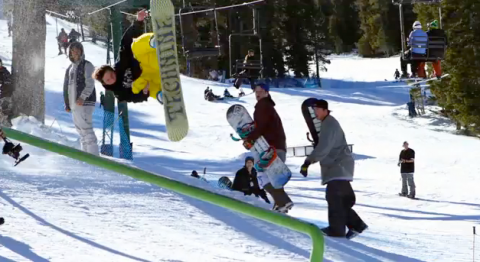 KTG rail jam at Las Vegas