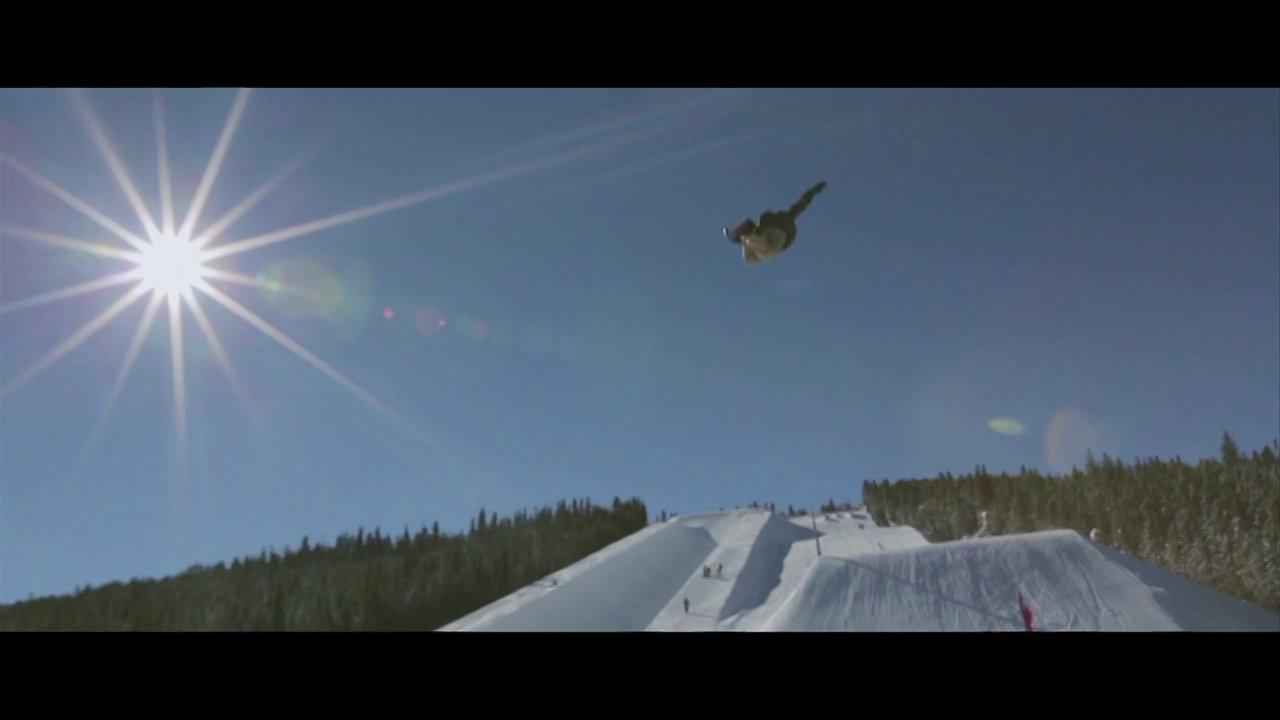 RK1 snowboarding - Breck & Key