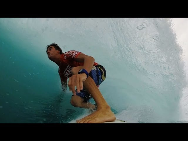 Beyrick De Vries GoPro Wave of the Winter Entry