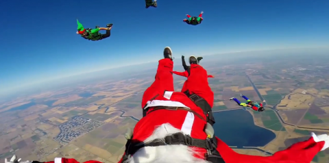 Santa's GoPro Vacation Adventures