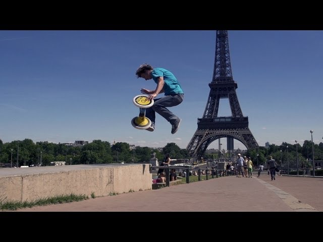Super Slow Motion Tricks in PARIS !