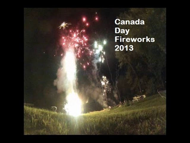 Fireworks Canada Cay 2013Constance Bay Shinanigans