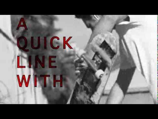 A quick line with Travis Prange