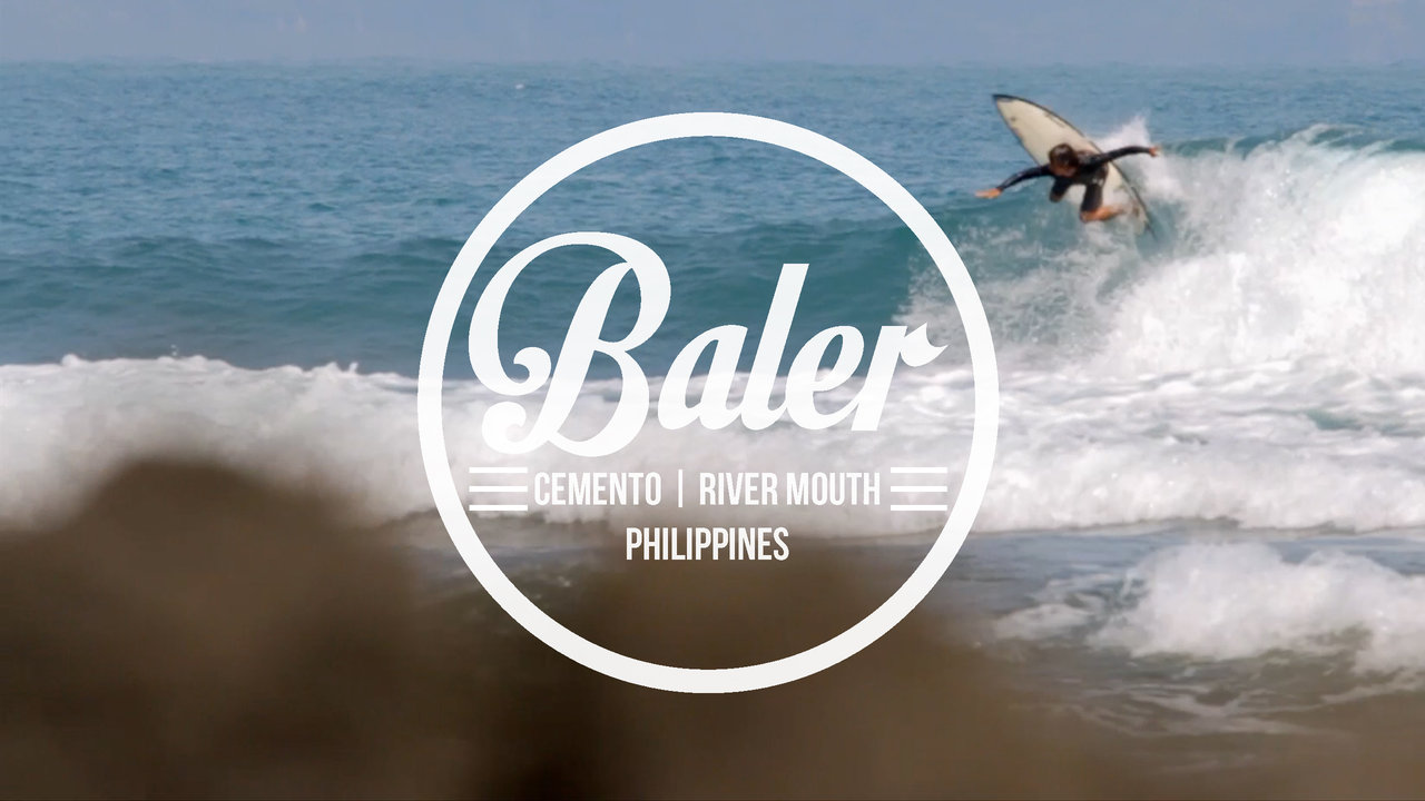 Surfing in Baler, Philippines