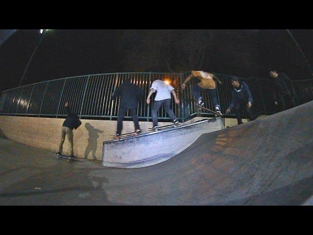 4 Skaters 6 Tricks 1 Line