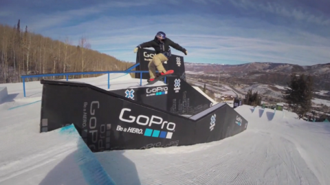 Seb Toots X Games Snowboard Slopestyle Preview