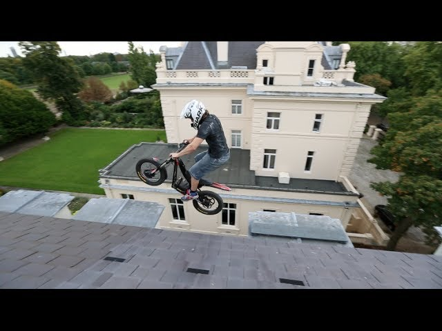 Electric Trials Bike + Abandoned Mansion