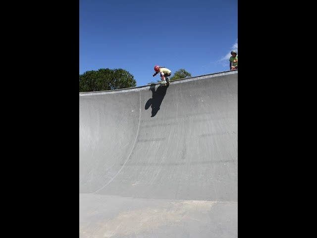 5 year old extreme skater - The Flying Squirrel