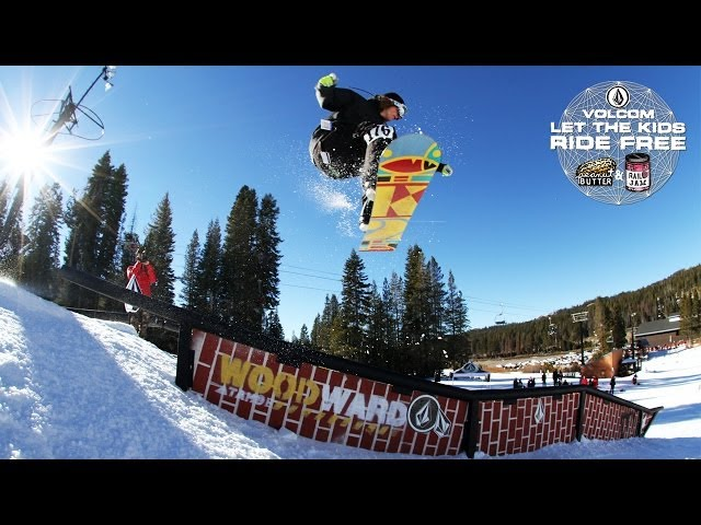 Stop #2 Volcom Stone's Peanut Butter and Rail Jam