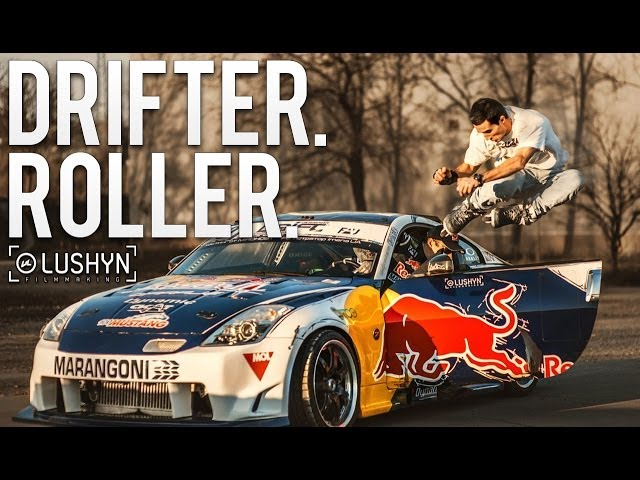 Rally Car VS Inline Skater
