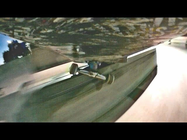 Camera Attached to skateboard