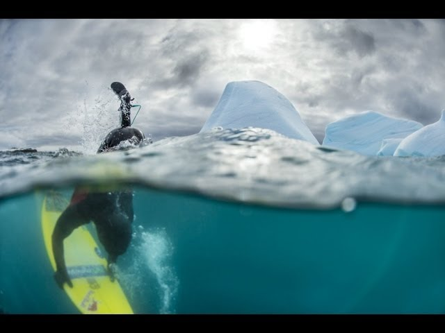 Red Bull Surfing Antarctica