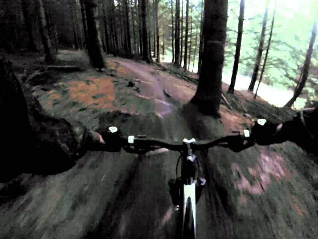 Glentress trail MTB Scotland Gopro Hero 3