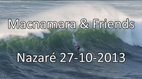 Macnamara & friends - Nazare Surf session 27-10-20