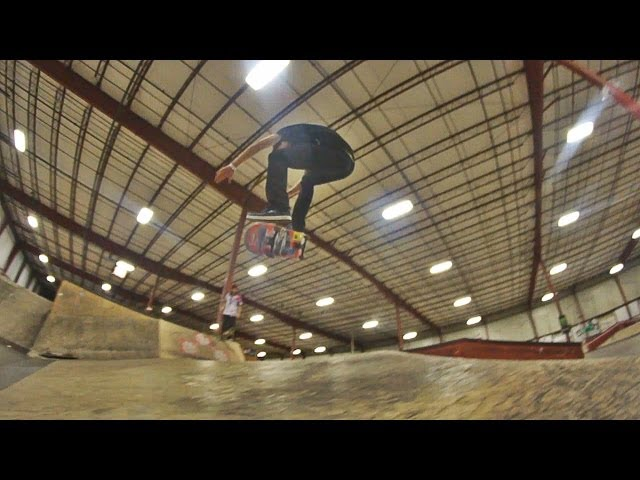 Frontside double kickflip