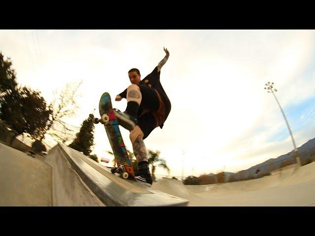 Skate montage at Duarte