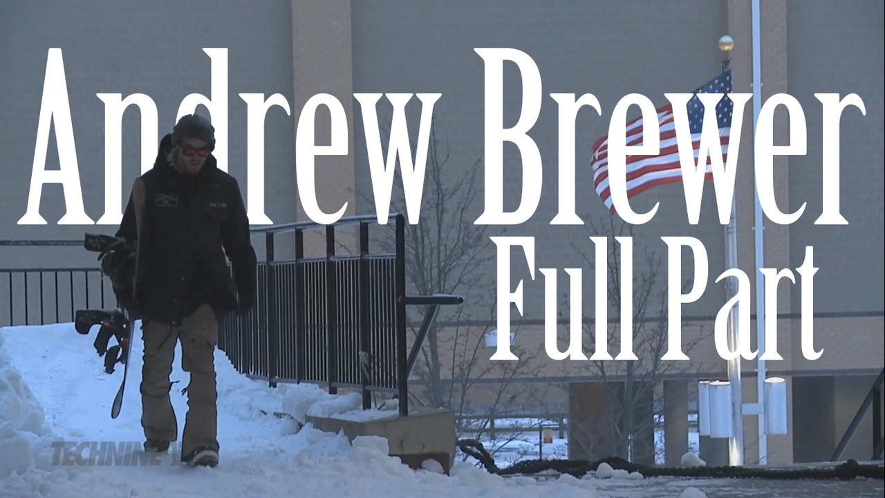 ANDREW BREWER FULL PART 2012-2013