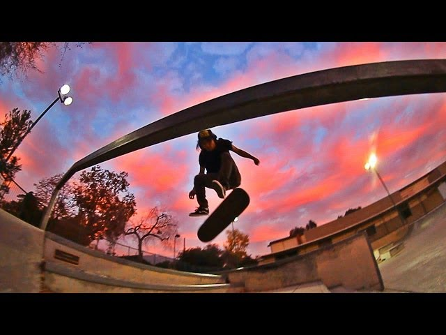 360 flip firecrack on double set