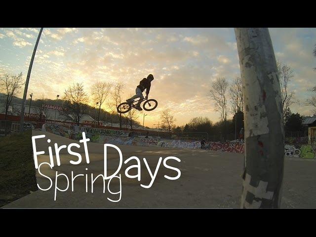 First Spring Days