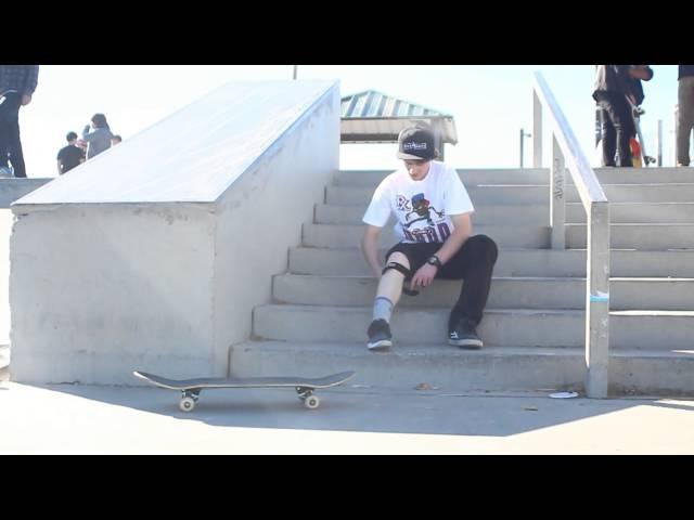 Jason Thurtle KickFlip Crook - Hump City