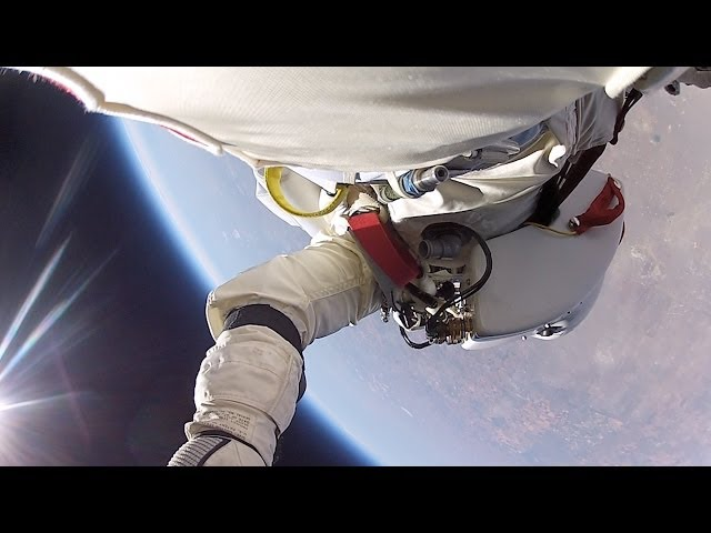 Red Bull Stratos Full GoPro Video