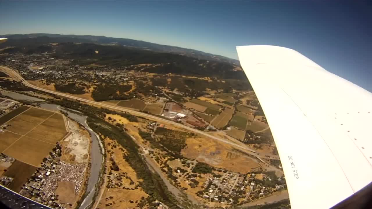 Skydiver Drops GoPro Pig Tries to Eat It