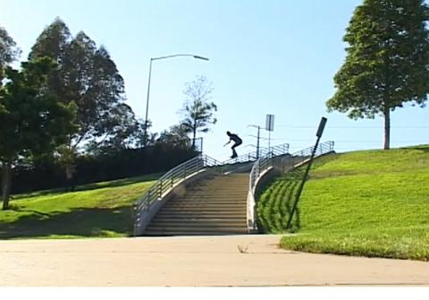 Biggest Handrail on a Skateboard Ever?