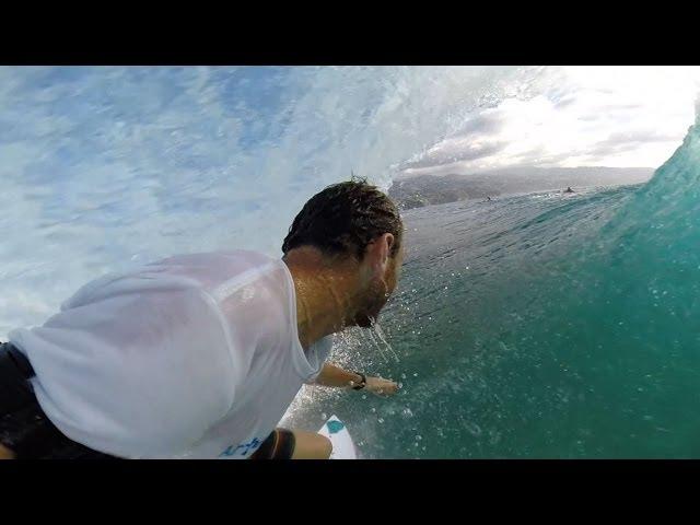 Steven Pierson in Tahiti
