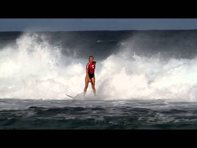 Bethany Hamilton Wins Women's Pipe Pro